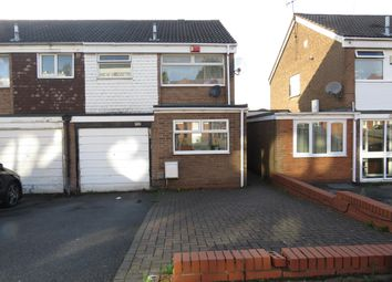 Thumbnail 3 bed semi-detached house to rent in Hawkins Street, West Bromwich