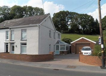 Thumbnail 4 bed semi-detached house for sale in Nantgaredig, Carmarthen