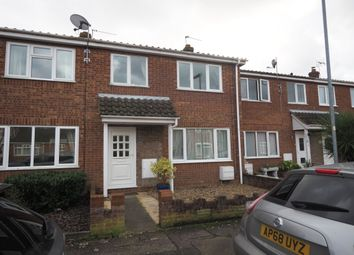 Thumbnail 3 bed terraced house to rent in Fern Gardens, Belton, Great Yarmouth