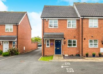 Thumbnail 3 bed end terrace house for sale in Chase Road, Burntwood, Staffordshire