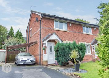 Thumbnail 2 bed end terrace house for sale in Brentwood Drive, Farnworth, Bolton