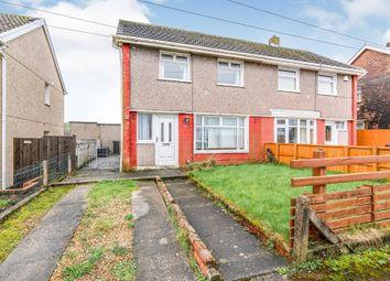 Thumbnail 2 bed semi-detached house for sale in Cwm Nant, Cimla, Neath