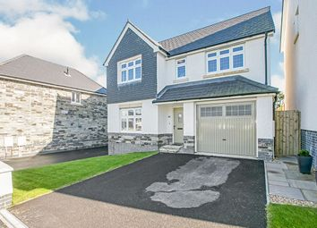 Thumbnail 4 bed detached house for sale in Trevenson Park, Pool, Redruth, Cornwall
