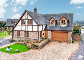 Thumbnail 4 bed detached house for sale in Maes Y Bryn, Berthengam