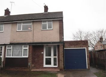 Thumbnail 3 bed semi-detached house to rent in Cromwell Road, Cheshunt, Waltham Cross, Hertfordshire