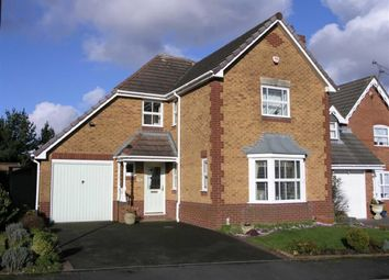 Thumbnail 4 bed detached house for sale in Breamore Crescent, Earls Keep, Dudley