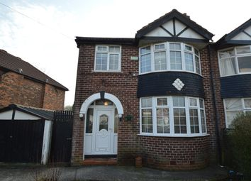 Thumbnail 3 bed semi-detached house to rent in Meade Hill Road, Manchester