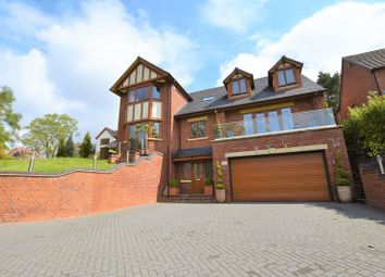 Thumbnail 5 bed detached house for sale in Cheddleton Road, Leek