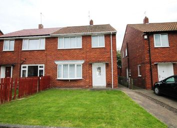 Thumbnail 3 bedroom semi-detached house for sale in Ripon Drive, Willington, Crook