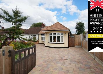 Thumbnail 2 bed semi-detached bungalow for sale in Lubbards Close, Immaculately Presented, Rayleigh, Essex