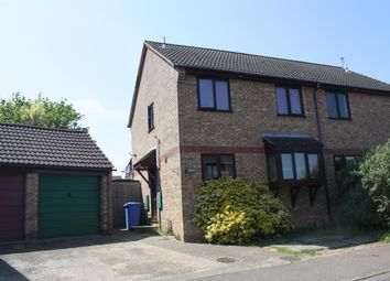 Thumbnail 3 bed semi-detached house to rent in Ethel Mann Road, Bungay