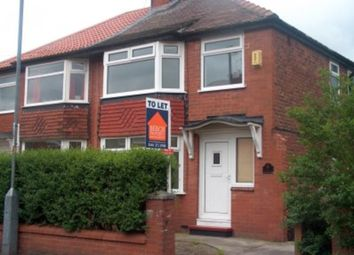 Thumbnail 3 bedroom semi-detached house to rent in Astbury Avenue, Audenshaw, Manchester