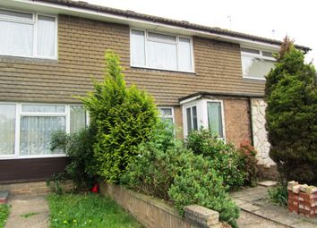 Thumbnail 3 bed terraced house to rent in Freegrounds Avenue, Hedge End, Southampton