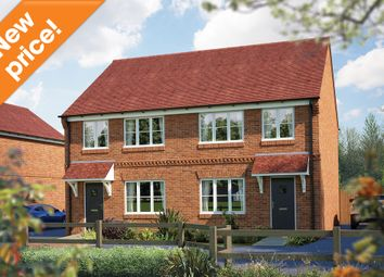 "Thumbnail 3 bedroom semi-detached house for sale in ""The Cranham"" at Brook Street, Aston Clinton, Aylesbury"