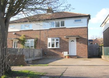 Thumbnail 3 bed semi-detached house for sale in Dimsdale Crescent, Bishop's Stortford