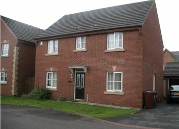 Thumbnail 4 bed detached house to rent in Stockton Crescent, Littledale, Kirkby