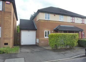 Thumbnail 3 bed semi-detached house to rent in Badgers Oak, Kents Hill, Milton Keynes