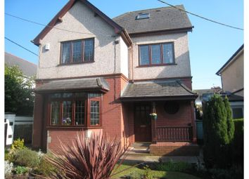 Thumbnail 3 bed detached house for sale in The Avenue, Pontypool