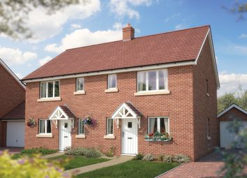 "Thumbnail 2 bedroom semi-detached house for sale in ""The Netley"" at Bridge Road, Bursledon, Southampton"