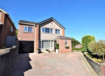 Thumbnail 4 bedroom detached house for sale in Meadvale Road, Rumney, Cardiff.