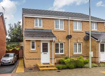 Thumbnail 3 bed semi-detached house for sale in Clos Joslin, Coity, Bridgend.