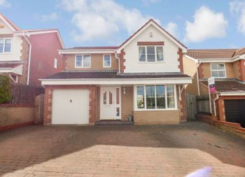Thumbnail 4 bedroom detached house for sale in Muirfield Close, Blackhill, Consett