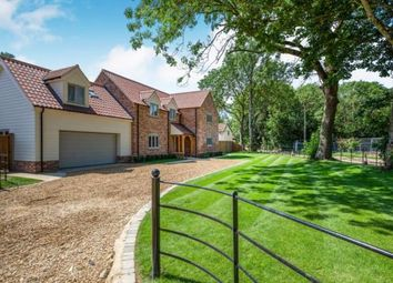 Thumbnail 4 bed detached house for sale in Hillsend Lane, Attleborough, Norfolk