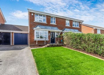 Thumbnail 3 bed semi-detached house for sale in Cagney Close, Wainscott, Rochester