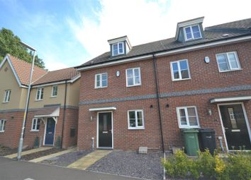 Thumbnail 3 bed town house to rent in New Costessey, Norwich