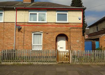 Thumbnail 1 bedroom maisonette for sale in Bisley Street, Off Narborough Road, Leicester