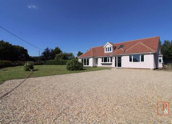 Thumbnail 4 bed bungalow for sale in Silver Hill, Hintlesham, Suffolk