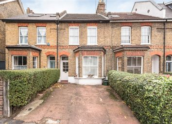 Thumbnail 3 bed terraced house for sale in Tetherdown, London
