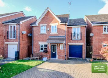 Thumbnail 4 bedroom detached house for sale in Merlin Close, Brownhills, Walsall