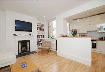 Thumbnail 2 bedroom flat to rent in Grove Place, Hampstead NW3,