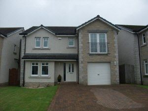 Thumbnail 4 bed detached house to rent in Muir Place, Lochgelly