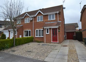 Thumbnail 3 bed semi-detached house for sale in Bulrush Close, Scarning, Dereham