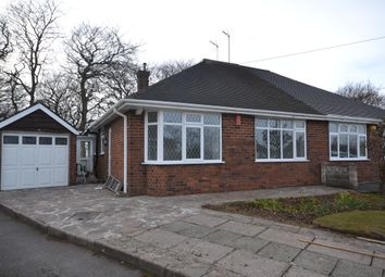Thumbnail 2 bed semi-detached bungalow to rent in Heathfield Grove, Longton, Stoke-On-Trent