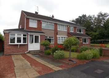 Thumbnail 3 bed semi-detached house for sale in Shadwell Close, Middlesbrough