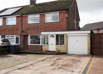 Thumbnail 3 bed semi-detached house for sale in Johnstone Avenue, Stoke-On-Trent