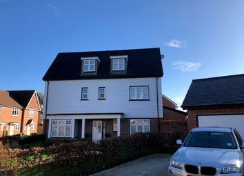 Thumbnail 4 bed detached house for sale in Mallows Close, Fleet