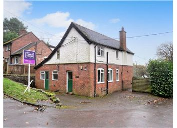Thumbnail 3 bed detached house for sale in Farley Road, Oakamoor, Staffordshire