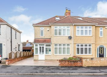Thumbnail 3 bed semi-detached house for sale in Manor Road, Bishopsworth, Bristol