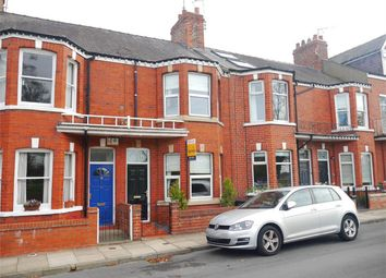 Thumbnail 3 bed terraced house for sale in Knavesmire Crescent, Overlooking The Racecourse, York