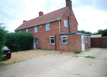 Thumbnail 3 bed semi-detached house for sale in Chalk Road, Walpole St. Peter, Wisbech