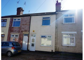 Thumbnail 2 bed terraced house for sale in Harcourt Street, Mansfield