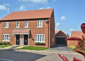 Thumbnail 3 bed semi-detached house for sale in Felix Road, Didcot