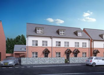 Thumbnail 3 bed town house for sale in Wood Green Road, Wednesbury