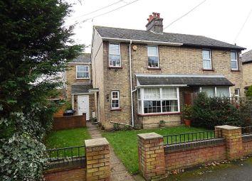 Thumbnail 4 bedroom semi-detached house for sale in Cambridge Villas, Cambridge Road, Godmanchester, Huntingdon