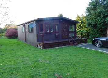 Thumbnail 1 bed mobile/park home for sale in Caerberis Park, Builth Wells
