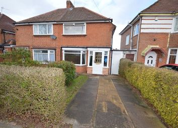Thumbnail 2 bed semi-detached house for sale in Woolacombe Lodge Road, Birmingham, West Midlands.